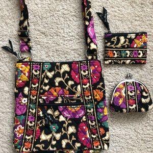 Vera Bradley 3 piece floral set